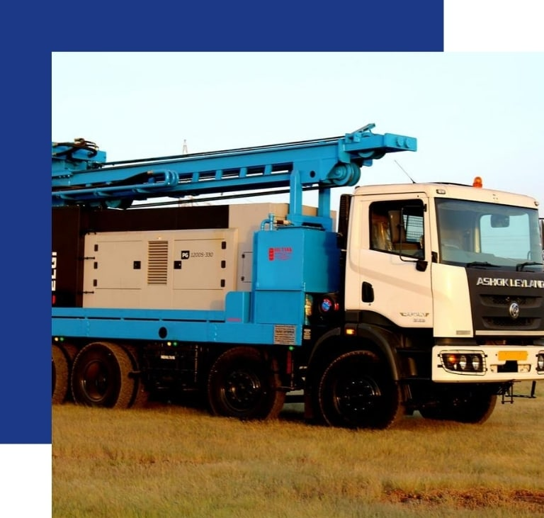 Truck Mounted Drilling Rig Truck Exporter in UAE